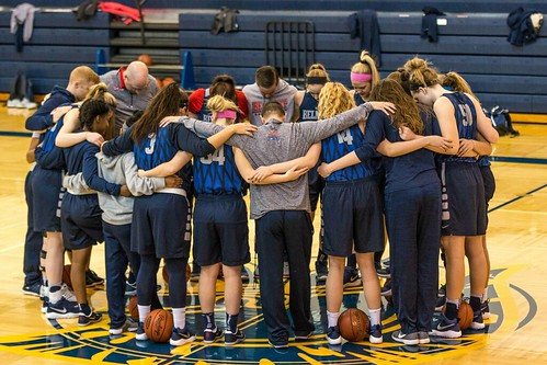 PHOTOS: Women's basketball prepares for first round with press conference