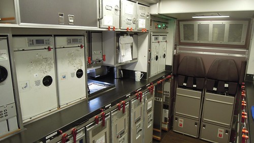 Malaysia Airlines Airbus A330 300 Aft Galley The Airbus