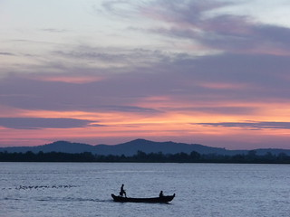 Sunset from the Mawlamyine water front | by beeslesr