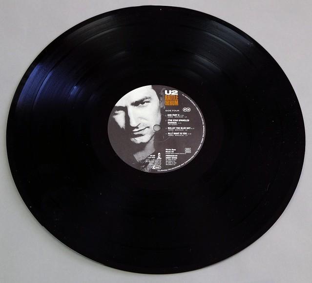 U2 - Rattle and Hum 2LP FOC Irish Rock Pop Vinyl Album