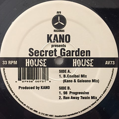 KANO:SECRET GARDEN(LABEL SIDE-A)
