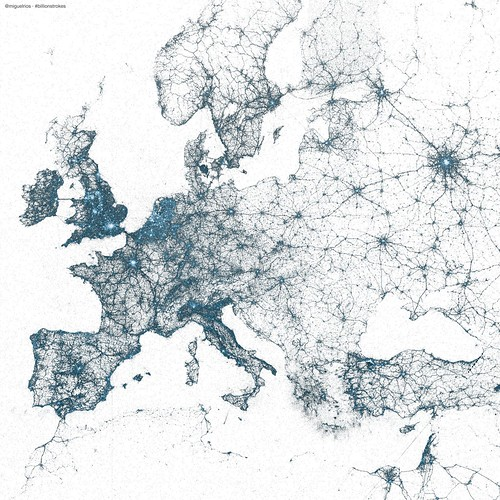 Visualization: Europe | by @Twitter