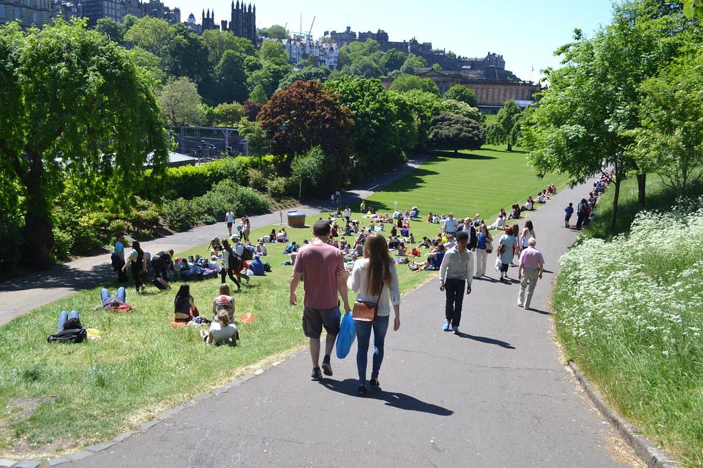 Princes Street Gardens, Edinburgh | Daniel | Flickr