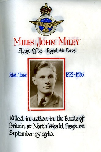 Miley, Miles John (1918-1940) | by sherborneschoolarchives
