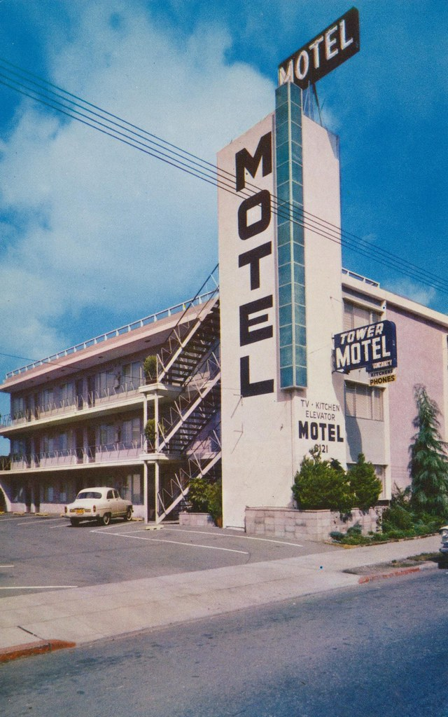 Tower Motel - Oakland, California