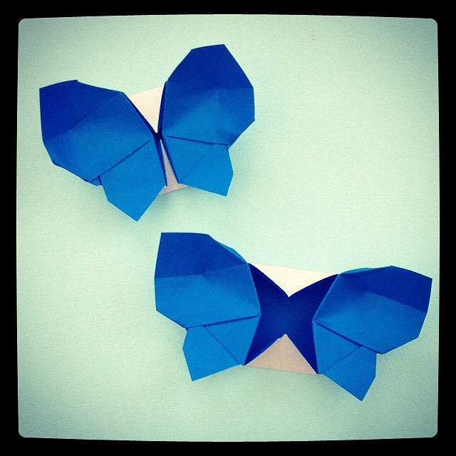 Origami Butterfly Box Design By Leyla Torres And Folded From Her YouTube Video