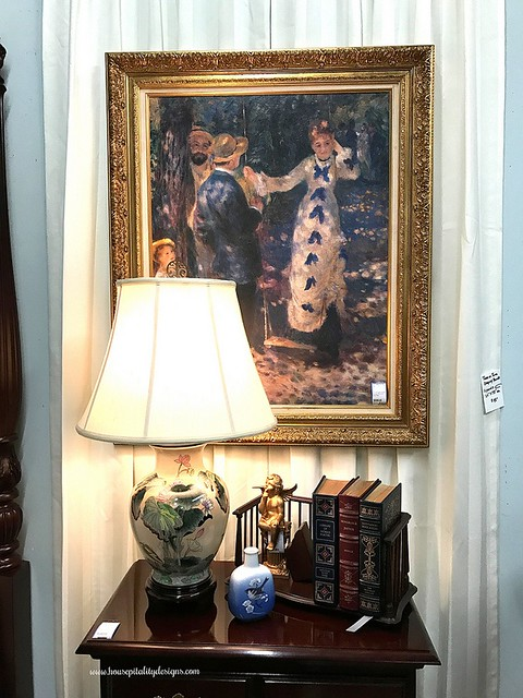 Consignment shop-Renoir painting-Housepitality Designs