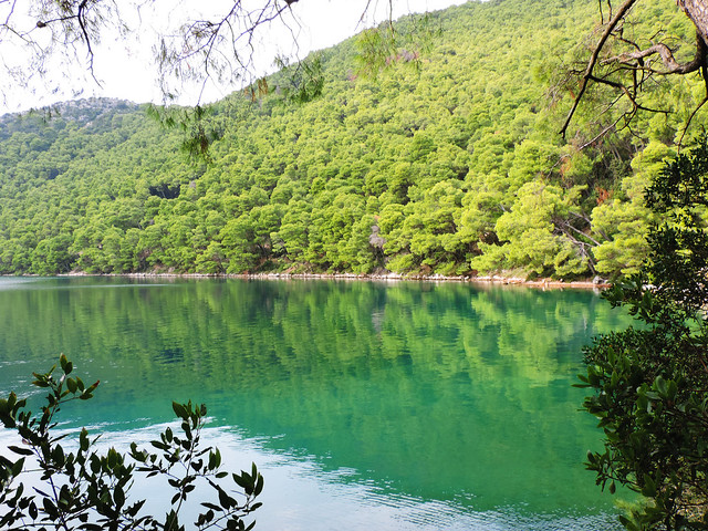Veliko jezero, Mljet, Croatia