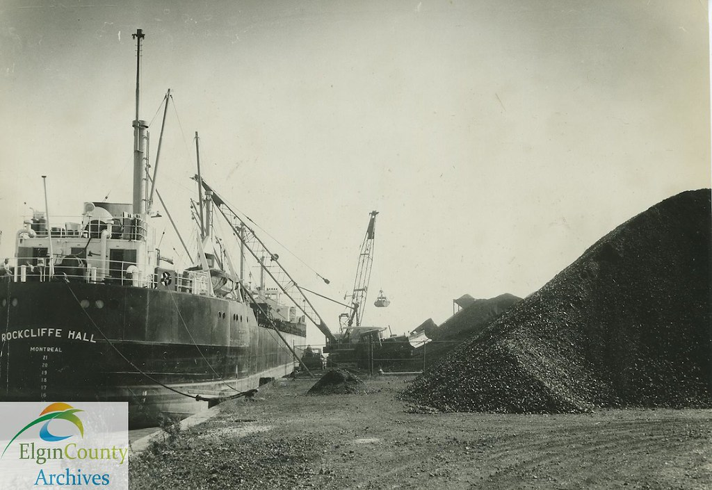 ... Port Burwell Boats- Record Coal Tonnage, 1961 | by Elgin County Archives