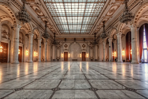 Bucharest's Palace of the Parliament – Ballroom | Romania | by NicoTrinkhaus