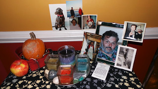 Ancestors Altar ~ October 2013 | by PetiteFamily93