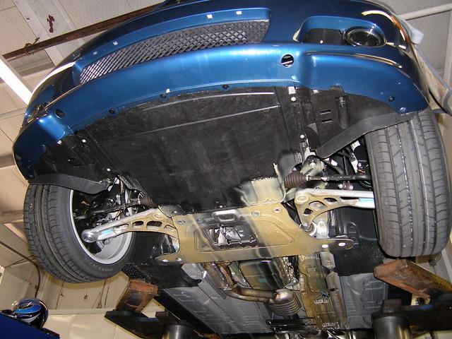 New E46 underside