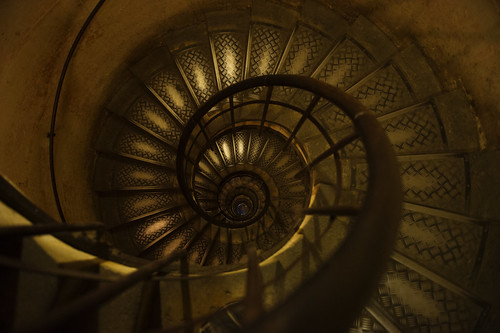 Spiral Staircase ~ Arc de Triomphe | by Dusty J