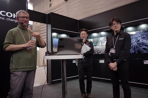 Mr.Suzuki, Mr.Ando, Mr.Shimizu at RICOH Imaging CP+2017
