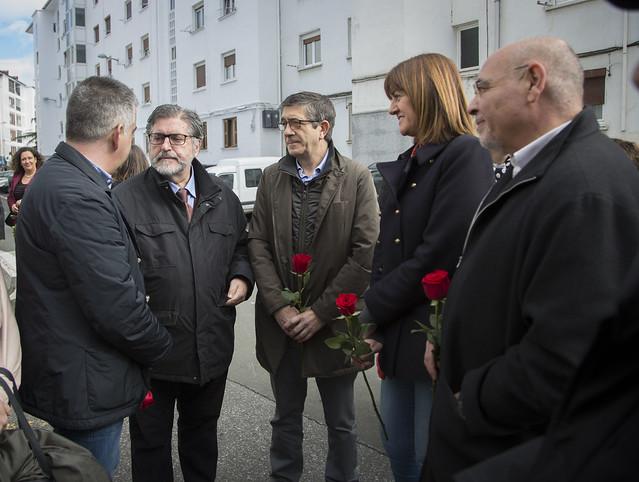 Homenaje a Isaías Carrasco
