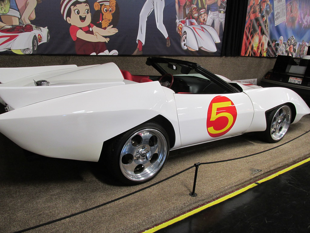 The Mach 5 race car from the movie \