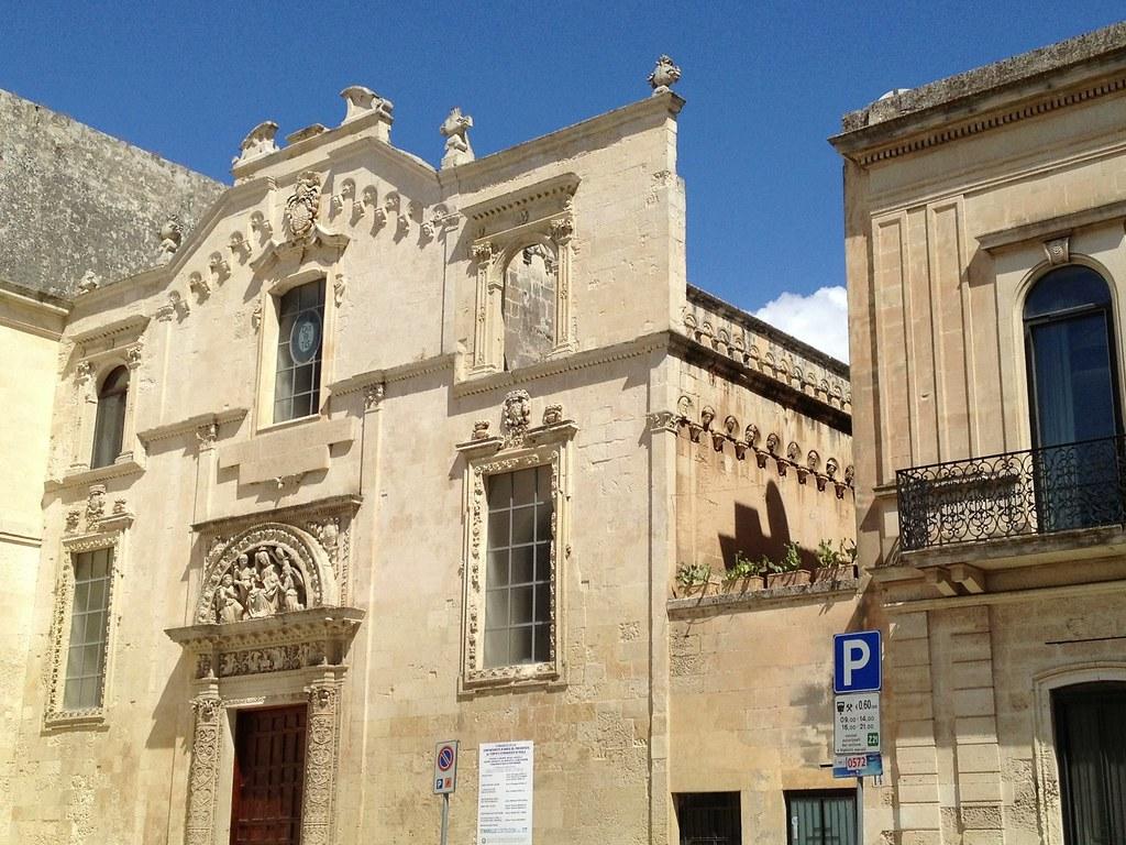 Risultati immagini per Chiesa di Santa Maria degli Angeli Lecce