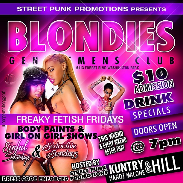 Club flyer layout for $75 any standard size additional Ins… | Flickr