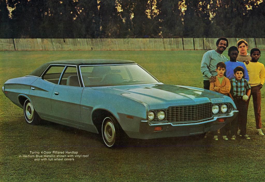 1972 ford torino 4 door pillard hardtop | coconv | flickr