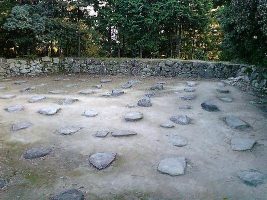 The_Ruins_of_Azuchi_Castle_Tenshukaku