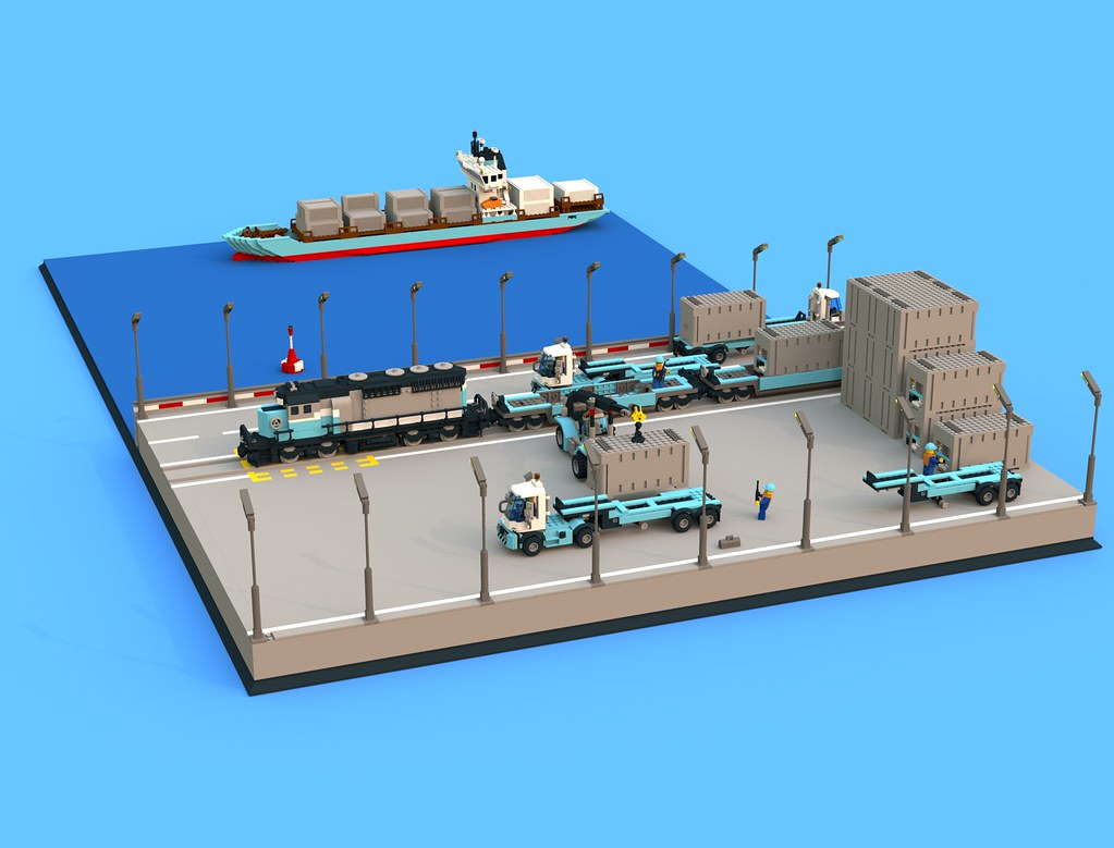 Based On 10155 Maersk Line Container Ship 10219 Maersk Tr Flickr