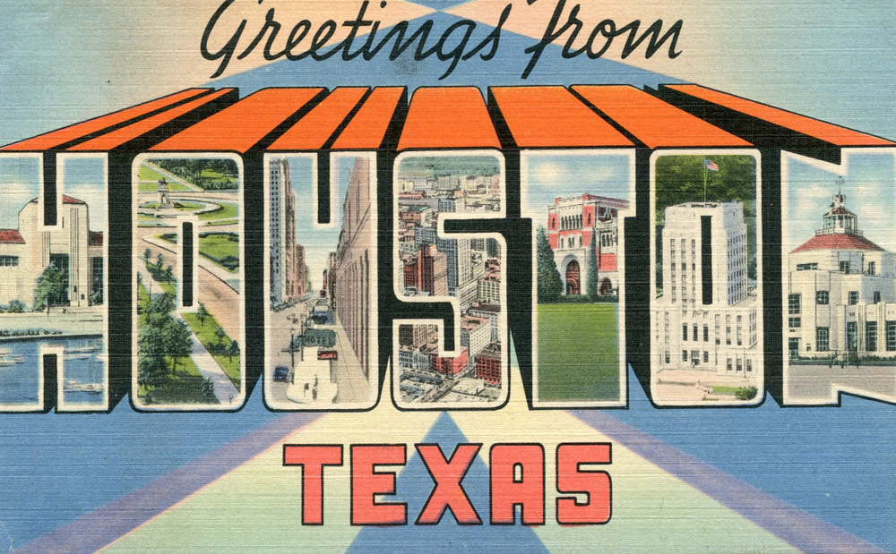 Greetings from houston texas large letter postcard flickr greetings from houston texas large letter postcard by shook photos m4hsunfo