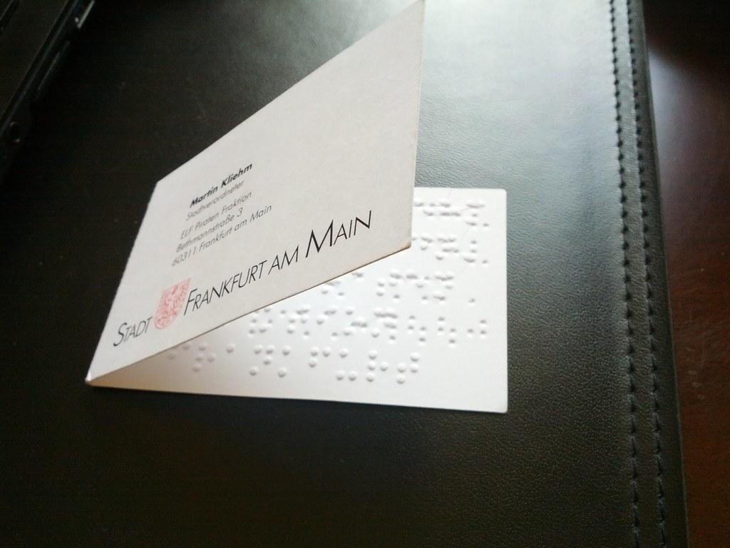 My braille business card martin kliehm flickr my braille business card by martin kliehm colourmoves
