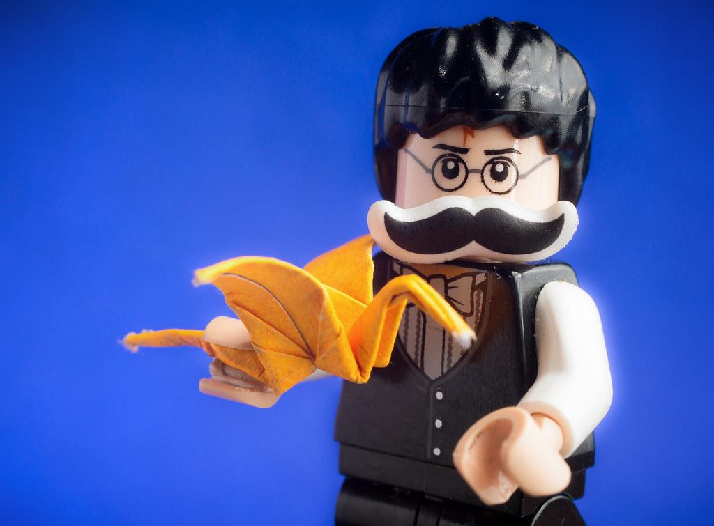Movember Harry Potter Origami David Fletcher Flickr