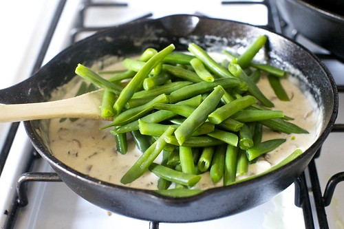 adding the green beans | by smitten kitchen