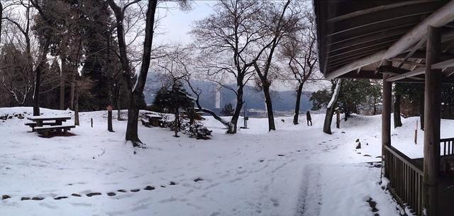 松尾山 山頂広場
