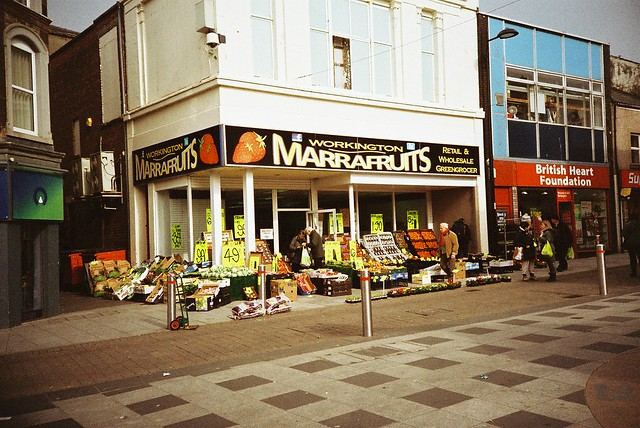 Where a Marra gets his Veg