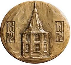 1975 Johan Thorbecke Medal reverse