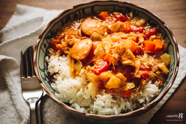 20170309 Home-cooked Turkey Gumbo 3877