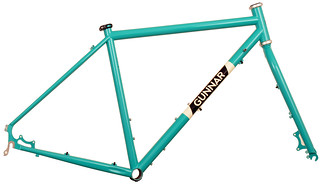 "Gunnar Grand Disc in Turquoise with ""Panda"" Panels 