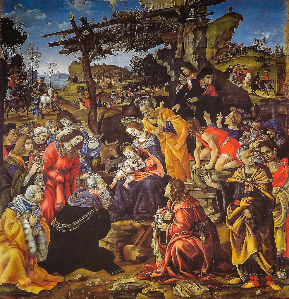 ... Filippino Lippe - Adoration of the Magi, 1496 Uffizi Galleria Florence  Italy | by mbell1975