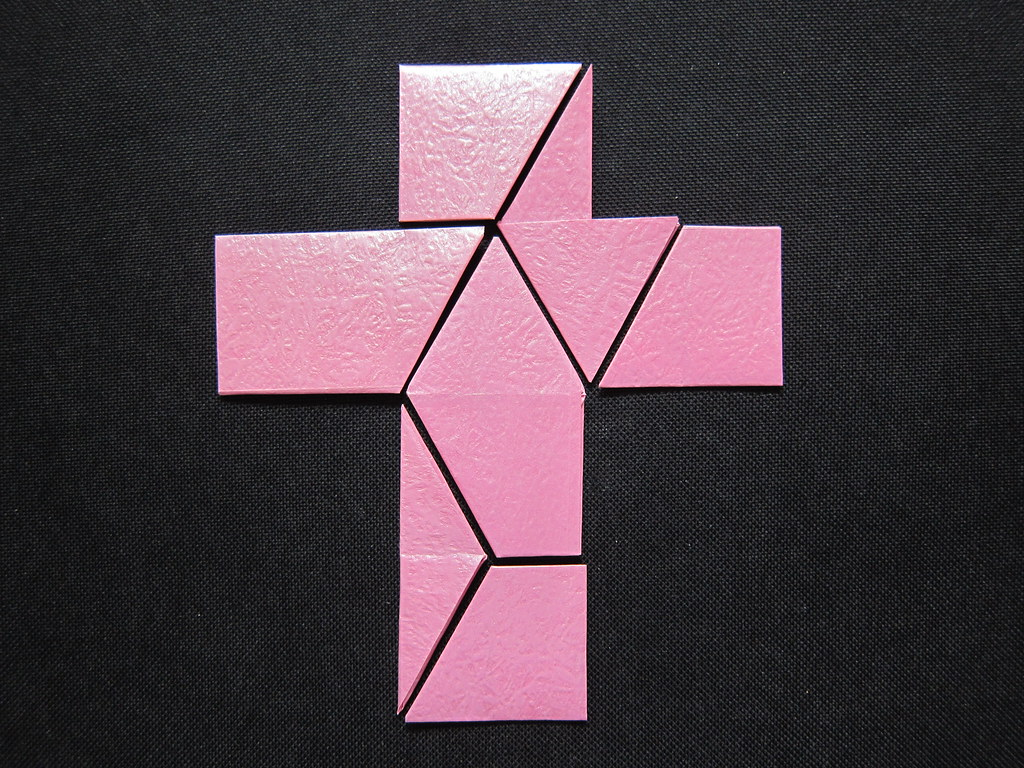 Cross Star Tangram