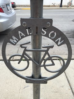 Bicycle Rack in Madison | by rickumali