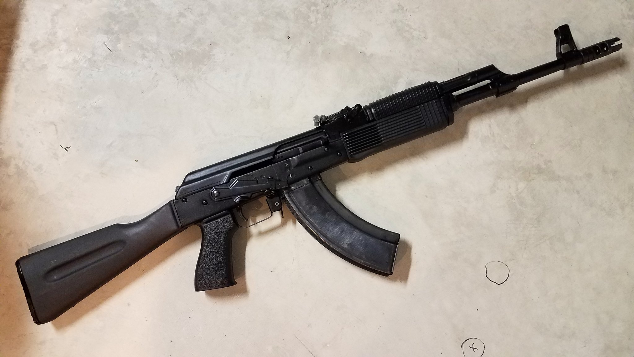 New ak picture thread page 25 ar15 new grip and sling on the draco sbr and some og magazines ak is a vepr ak47 11 thecheapjerseys Gallery
