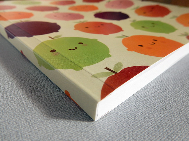 Cutie Fruity notebook from Society6