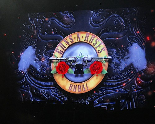 Guns N' Roses in Dubai