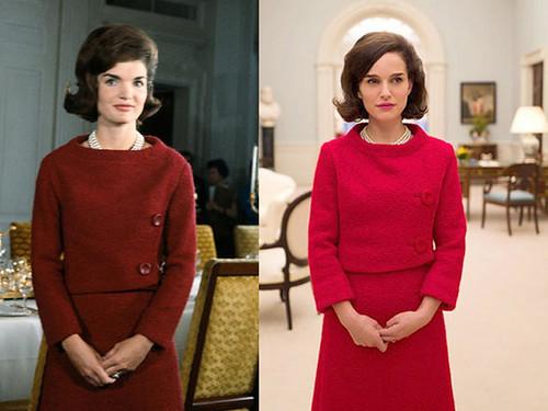 Jacqueline-Kennedy v Natalie Portman