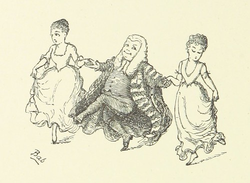 Image taken from page 76 of 'Songs of a Savoyard. [Lyrics from the operas by W. S. Gilbert, performed at the Savoy Theatre.] ... Illustrated by the author' | by The British Library