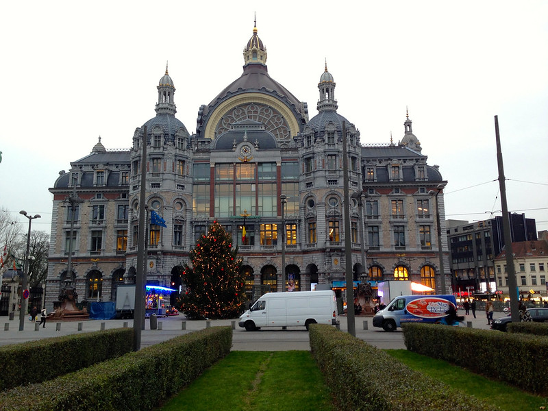 Antwerp Central Station Dec 2013 - 06