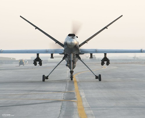 Reaper Remotely Piloted Air System | by Defence Images