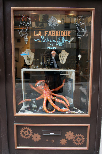 The steampunk shop of Nantes