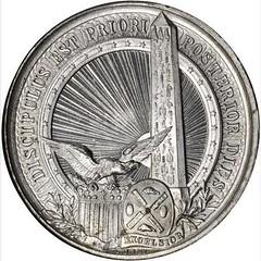 1881 ANS Cleopatra's Needle Medal obverse