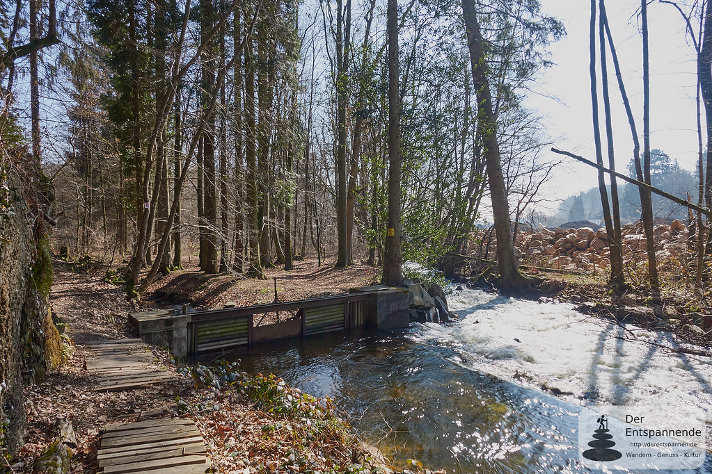 Eisenhüttenwehr bei Abentheuer