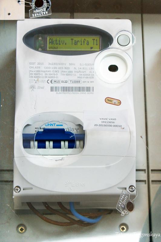 Новый счетчик на электроэнергию