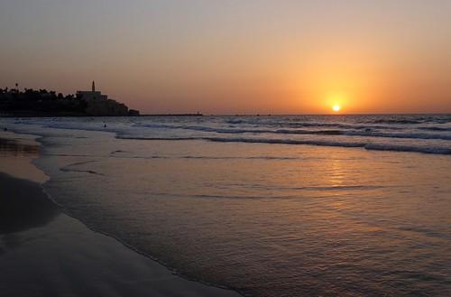 Sunset Jaffa/ Tel Aviv