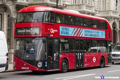 Wrightbus NRM NBFL - LTZ 1480 - LT480 - Liverpool Street 11 - Go Ahead London - London 2017 - Steven Gray - IMG_9173